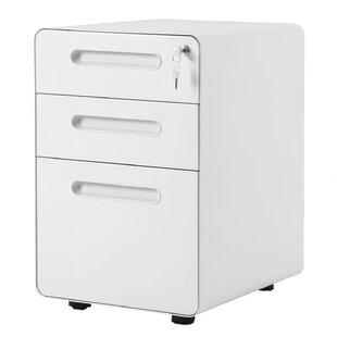 Horford 3 Drawers Vertical Filling Cabinet By Ebern Designs