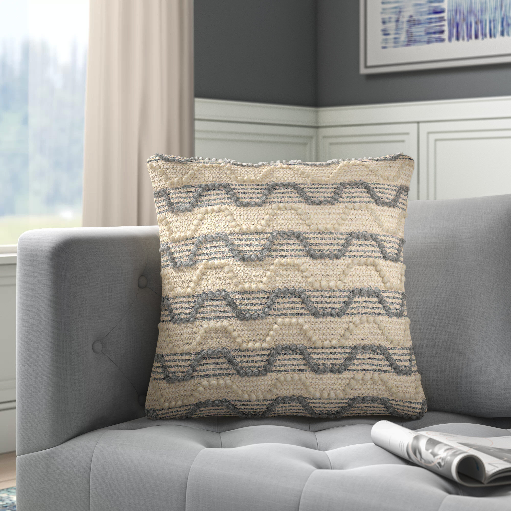 Joss Main Ellijay Square Pillow Cover Insert Reviews Wayfair