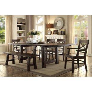 Gracie Oaks Anteus Trestle Dining Table