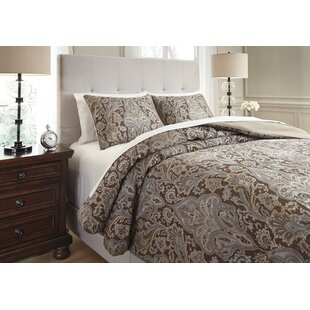 Mullaghboy 3 Piece Reversible Comforter Set by Astoria Grand