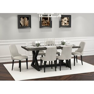 Rainbolt 7 Piece Dining Set by Gracie Oaks Today Sale Only