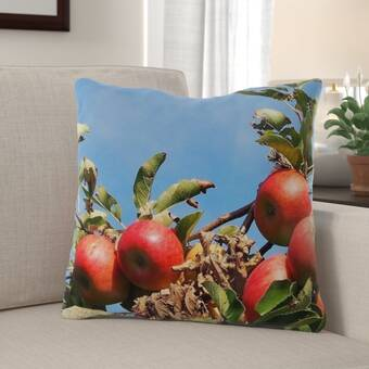 East Urban Home Floral Indoor Outdoor 36 Throw Pillow Cover Wayfair