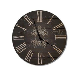 French Country 30 Cedar Wall Clock