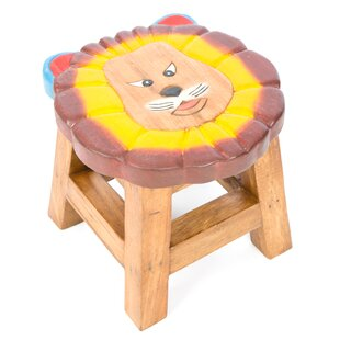 Lion Face Children's Stool By Just Kids