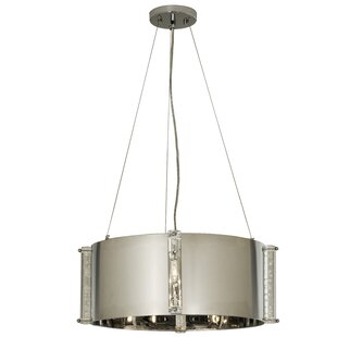 House of Hampton Keim 4-Light Drum Pendant