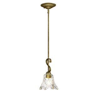 Fleur De Lis Living Whaley 1-Light Cone P..