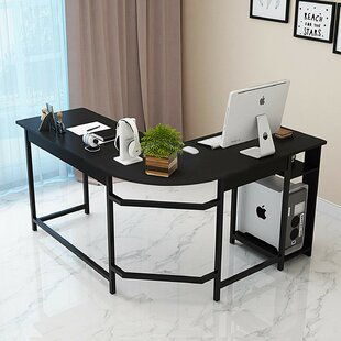 Knox L- Shaped Desk by Ebe..