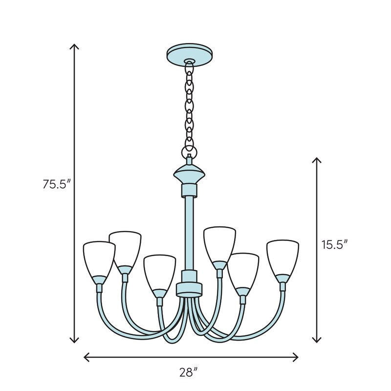 Longshore Tides Cardoza 4 Light Shaded Classic Traditional Chandelier Wayfair