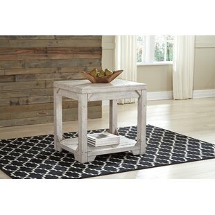 Ezio End Table by Highland Dunes