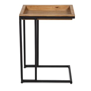 High-End Ironton Sofa C Tray Table by Gracie Oaks