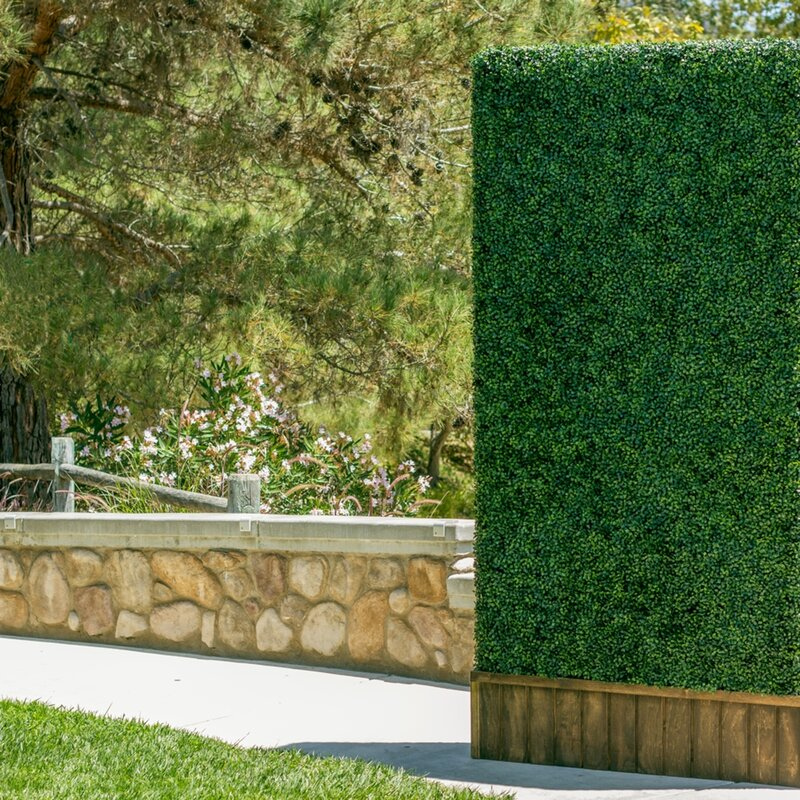 15 Foot Faux Climbing Ivy Weather-Resistant Privacy Porch Fence Cover