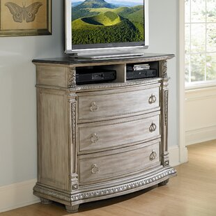 Astoria Grand Toddington 3 Drawer Media Chest