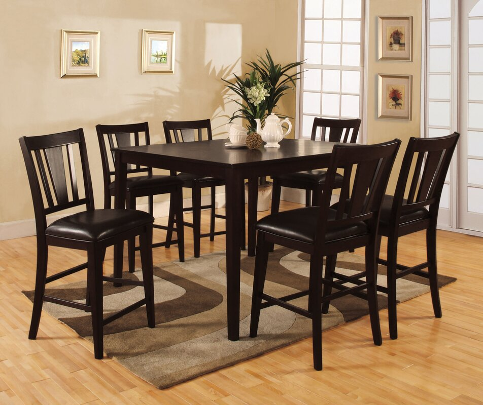 Charmant Eastgate Leal 7 Piece Counter Height Dining Set