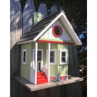 Home Bazaar Fledgling Series Pinepoint 10 in x 6 in x 8 in Birdhouse