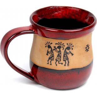 Bathild Trio Kokopelli Coffee Mug