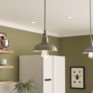 Laurel Foundry Modern Farmhouse Stephine 1-Light Dome Pendant