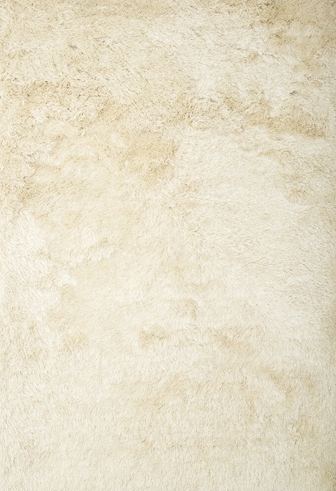 Everly Quinn Yan Handmade Shag Ivory Area Rug Reviews Wayfair