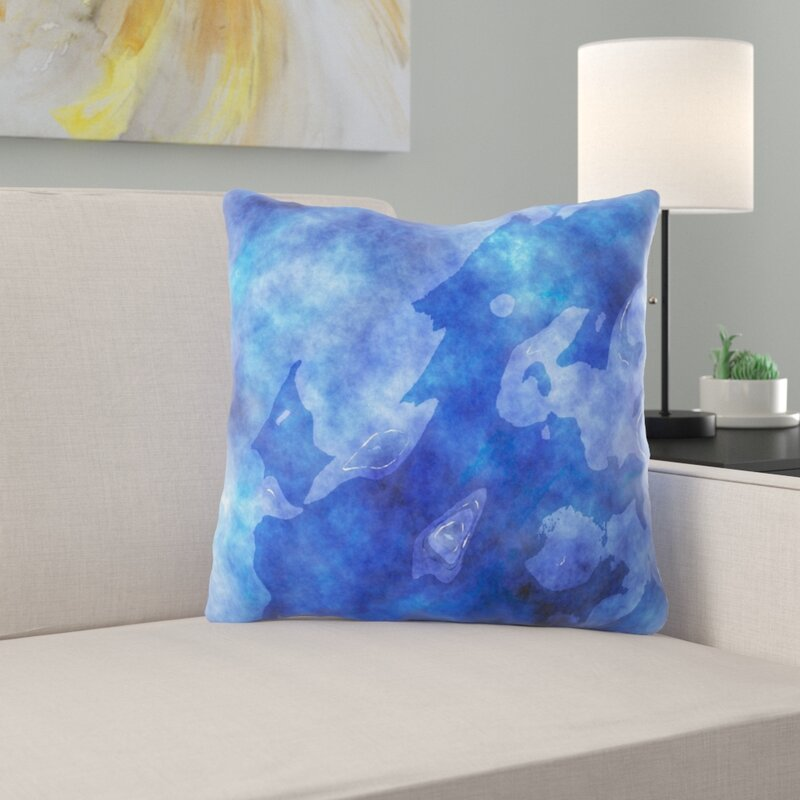 Ebern Designs Bressyln Watercolour Throw Pillow Wayfair