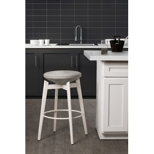 Lazenby 26 Swivel Bar Stool by Ebern Designs