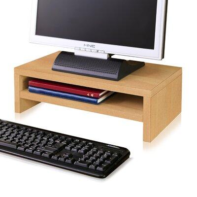 Ormonde 2 Shelf Computer Monitor Stand zBoard Laptop Riser Andover Mills Finish: Natural