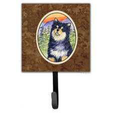 Finnish Lapphund Leash Holder and Wall Hook by Caroline's Treasures