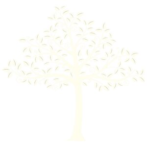 Silhouette Tree Baby Wall Stickers