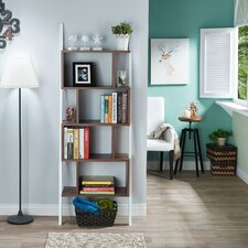 Bostic 71 Leaning Bookcase by Mercury Row