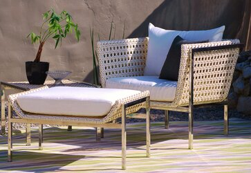 Modern outdoor lounge furniture allmodern for Best rated patio furniture
