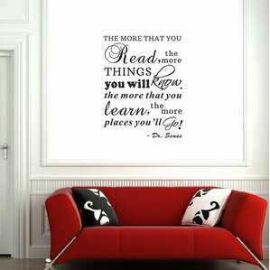 Wall Decal Quotes  Words Youll Love Wayfair - How to put a wall decal up