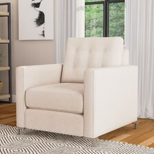 Harper Armchair with Metal Legs by Wayfair Custom Upholstery