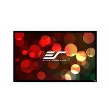 ezFrame2 Grey Fixed Frame Projection Screen by Elite Screens