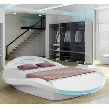 Bangor Modern European Kingsize Upholstered Platform Bed by Orren Ellis