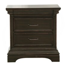 Glencoe 3 Drawer Nightstand by Darby Home Co
