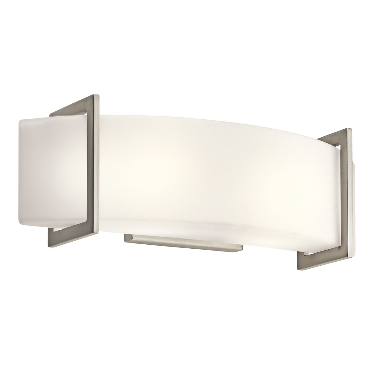 Kichler Crescent View Light Bath Bar  Reviews Wayfair - Kichler bathroom lighting