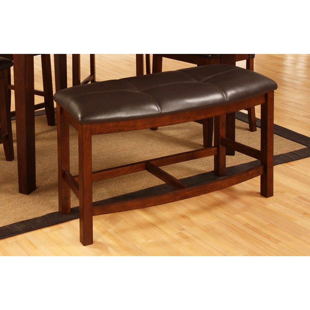 Best Quality Furniture Upholstered Dining Bench  Reviews Wayfair - Best quality dining room furniture