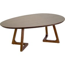 Ailsa Irregular Oval Coffee Table by Glamour Home Decor