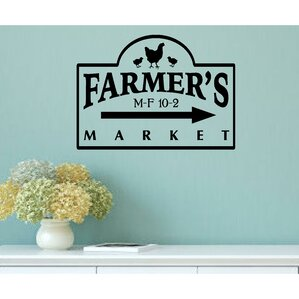 Farmer S Market Vintage Country Kitchen Wall Decal