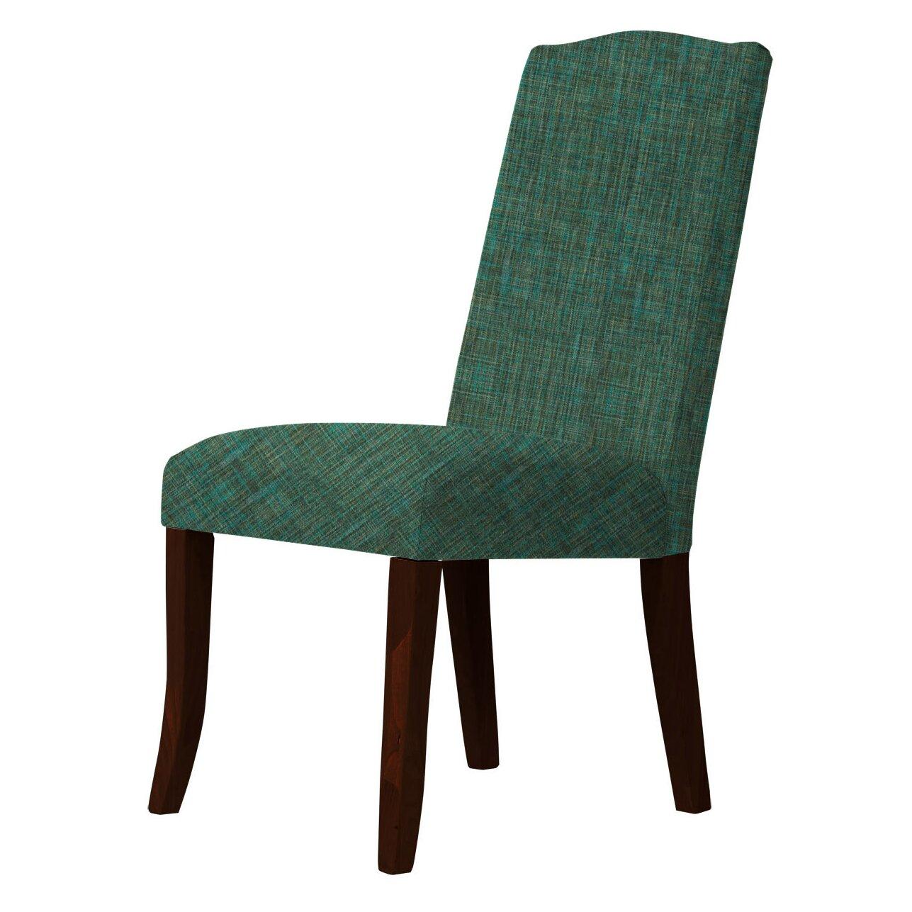 Red barrel studio lasseter upholstered dining chair for Red upholstered dining chair