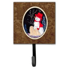 Lhasa Apso Leash Holder and Wall Hook by Caroline's Treasures