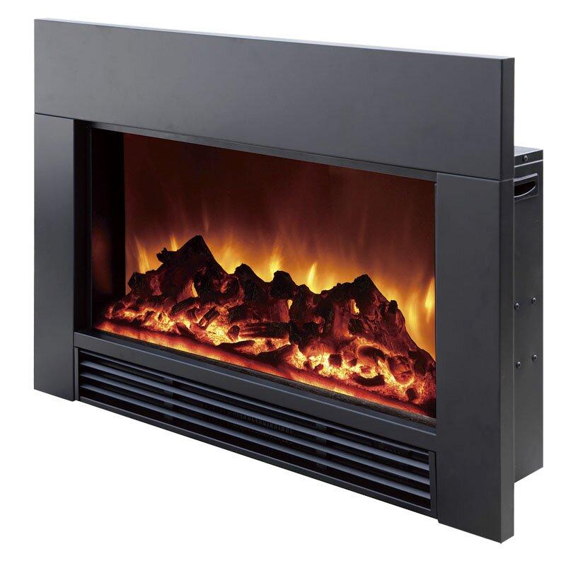 Fireplace Design fireplace insert electric : Dynasty Electric Wall Mount Fireplace Insert & Reviews | Wayfair