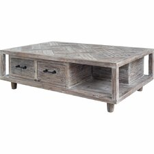 Alicia Coffee Table With Magazine Rack by August Grove