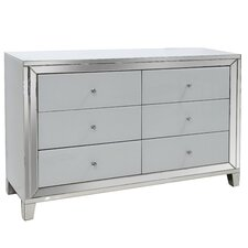 6 Drawer Accent Cabinet by Best Quality Furniture