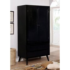 Polick Transitional Armoire by Enitial Lab