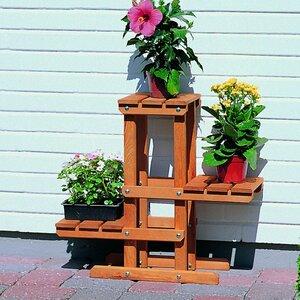 Recheckig Blumenpodest