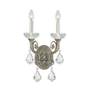 rupelmonde 2light candle wall sconce