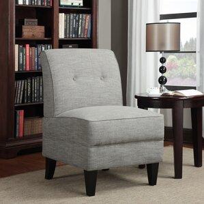 courtney tufted slipper chair