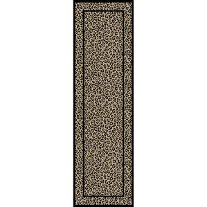 Jewel Leopard Beige Area Rug