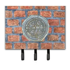 New Orleans Watermeter on Bricks Leash and Key Holder by Caroline's Treasures