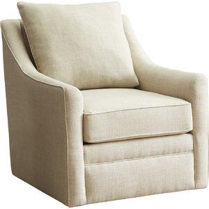 Quincy Swivel Armchair by AllModern Custom Upholstery