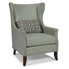 Transitional Wingback Chair by Fairfield Chair